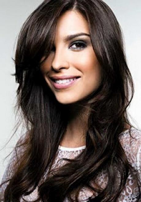 el corte de pelo indicado largo medio con muchas capas degrafilado con ...