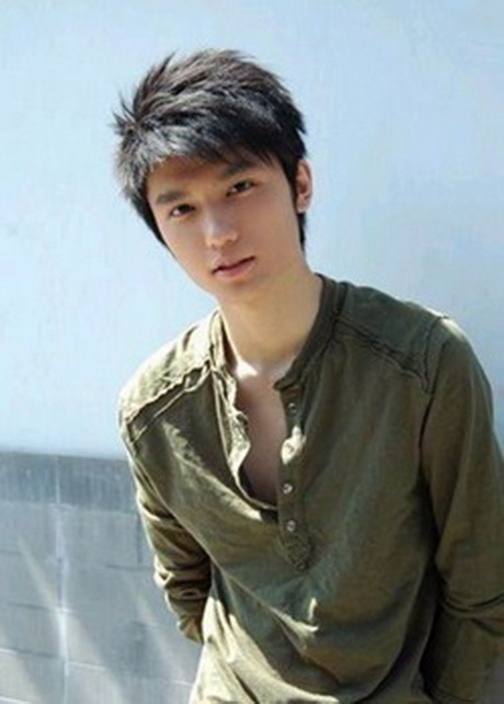 Short Asian Hairstyle Man