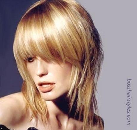 Modernos y elegantes cortes de cabello con flequillo para el 2013