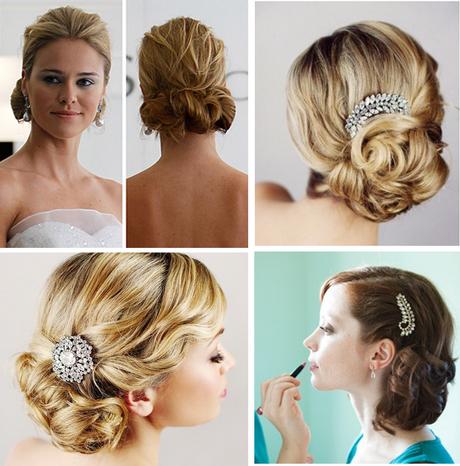 fotos de peinado de novia: