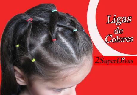 Peinado Con Ligas
