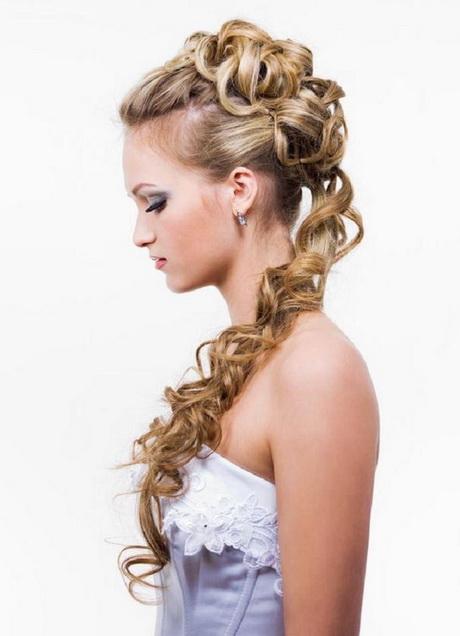 Peinado de novia con trenzas - Peinados de novia con flequillo ...