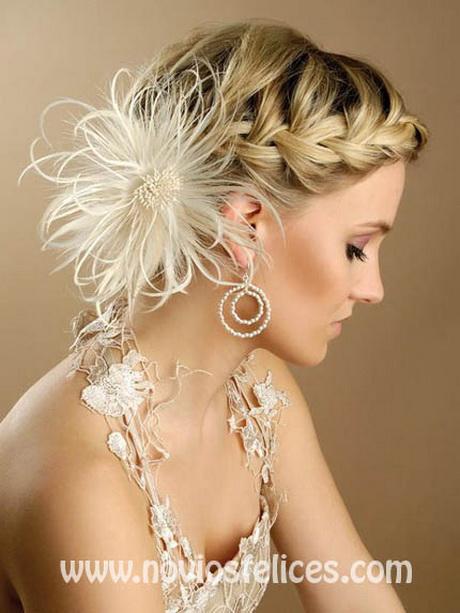 Peinado de novia con trenzas - Peinados monos modernos ...