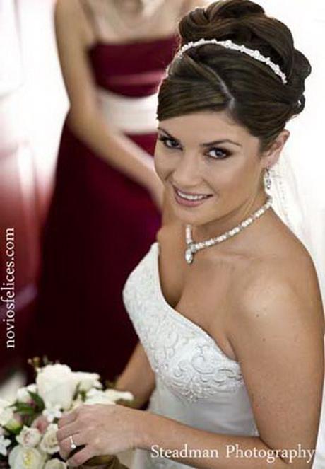 Peinado de novia recogido - Peinados recogidos novias ...