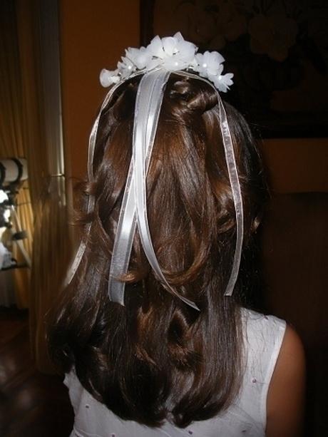 peinados comunion sencillos - Peinados De Comunion Sencillos