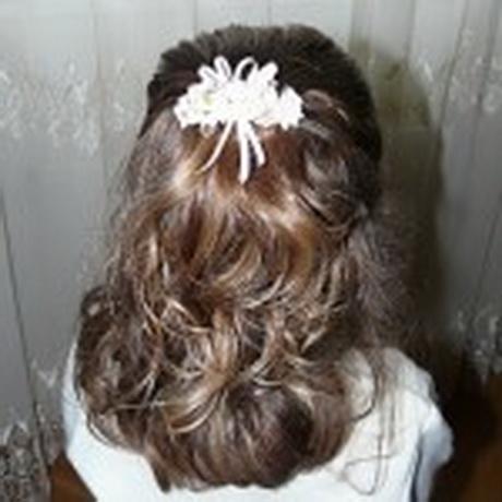 Peinados de comunion sencillos - Peinados sencillos para comunion ...