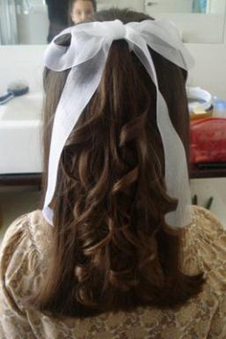 peinados de comunion sencillos - Peinados De Comunion Sencillos