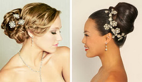 Peinados de mo os para bodas - Peinados de novia actuales ...