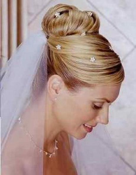 Peinados de novia 2014 con velo for Recogido bajo trenzado
