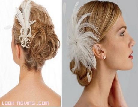 peinados de novia con tocado On semirecogidos con tocados para bodas