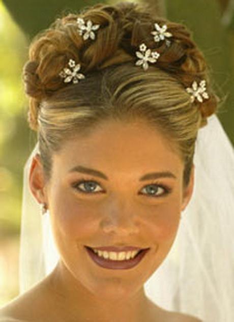 Peinados de novia recogido for Recogidos altos para novias