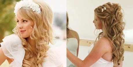 Peinados de novia semirecogidos for Imagenes semirecogidos