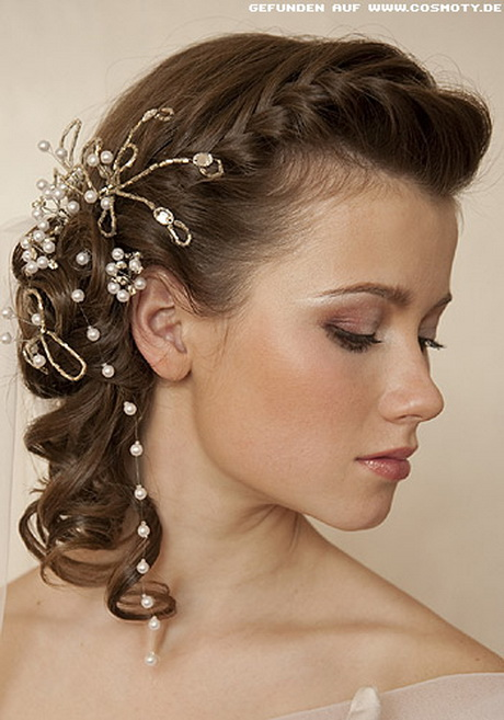 Peinados de pelo corto para boda - Peinados elegantes para una boda ...