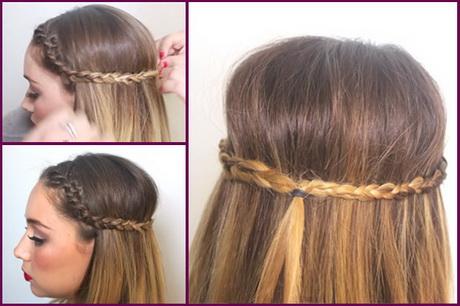 peinados fciles con trenzas - Peinados De Trenzas Faciles