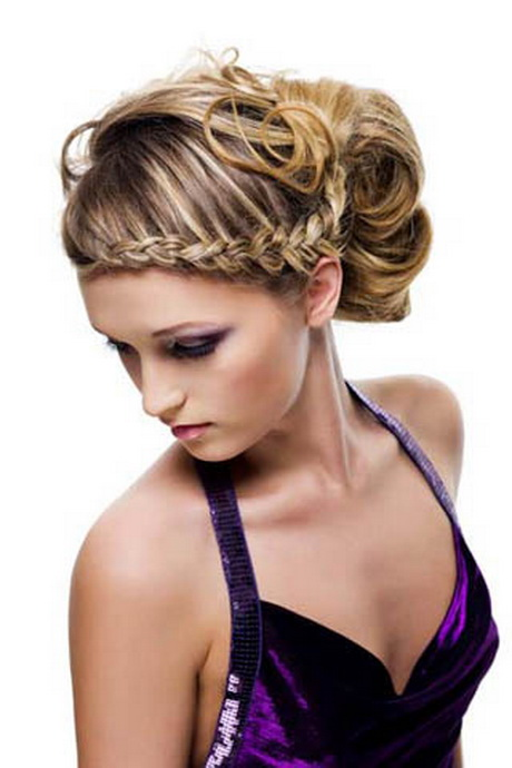 peinados moos para fiestas de noche - Peinados Con Moos