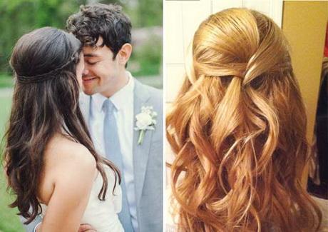 Peinados novia pelo suelto - Peinados de novia con flequillo ...