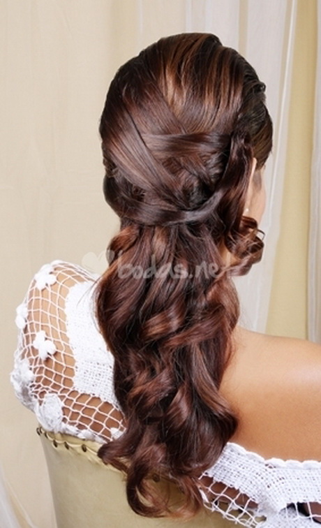 peinados novia romanticos