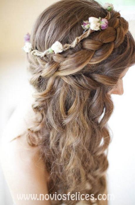 Peinados originales para pelo largo - Ideas para peinar cabello largo ...