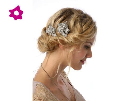 Peinados para boda invitada - Fotos de recogidos bajos ...