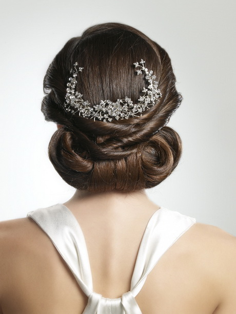 Peinados para boda recogidos - Peinados de novia recogido ...