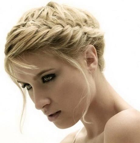 Peinados con trenzas para cabello corto 2013 como hacer - Peinados recogidos con trenzas ...