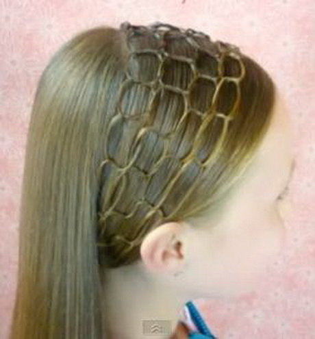 Trenza diagonal terminada en lazo alto! - diagonal braid into ponytail