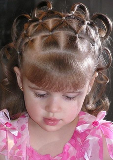 Детские плетение длинных волос