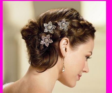 Peinados para novia con cabello corto - Peinados de novia con flequillo ...