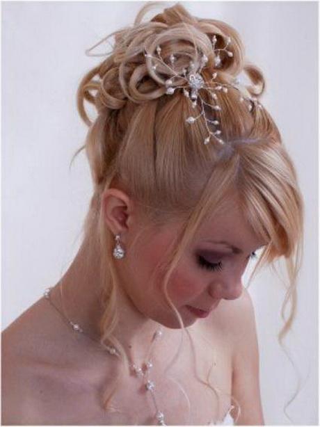 Peinados para novias con poco cabello