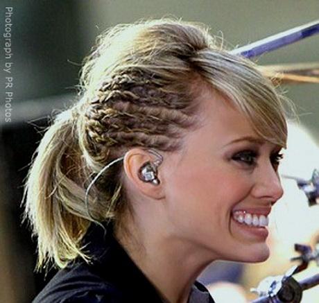 Peinados para pelo corto con trenzas for Recogido bob