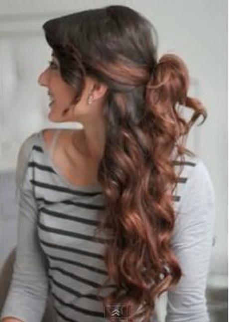 Peinados pelo largo faciles - Cabello largo peinados ...