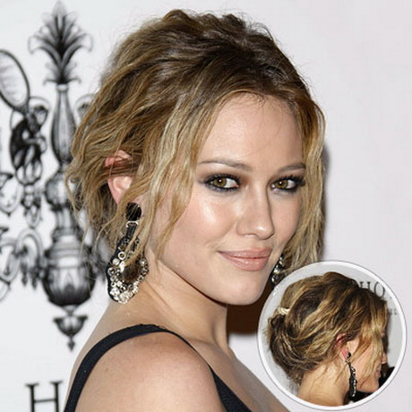 peinados recogidos de famosas