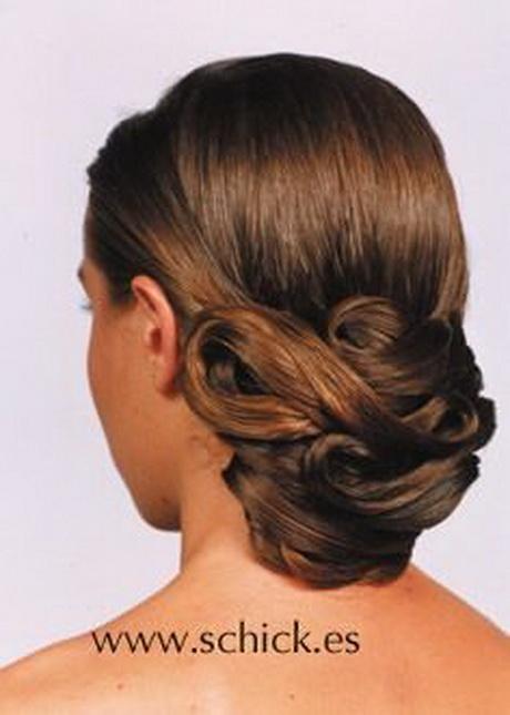 Peinados recogidos para bodas de dia for Recogidos altos para novias