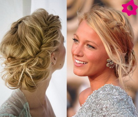 Peinados recogidos para cabello rizado - Peinados recogidos novias ...