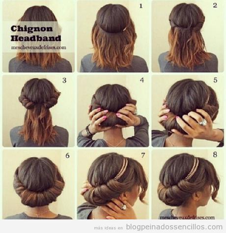 pelo largo1 peinados faciles y rapidos para cabello largo paso a paso ...