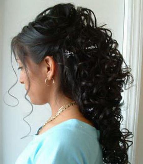 Peinados semirecogidos de novia - Peinados de boda semirecogidos ...