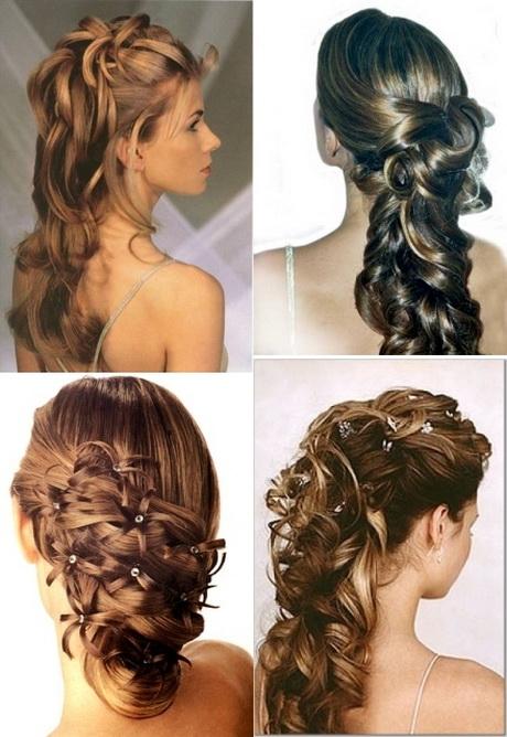 Peinados semirecogidos para boda
