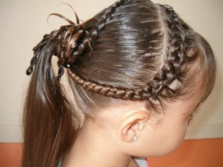 Peinados sencillos con ligas