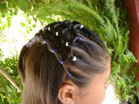 Im 225 genes de peinado f 225 cil para ni 241 as belleza y peinados