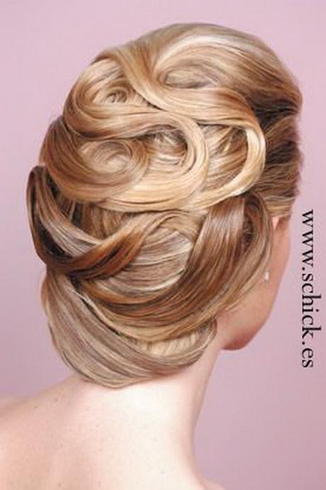 Peinados recogidos para novias 2012 2013 20 fotos de hermosos peinados