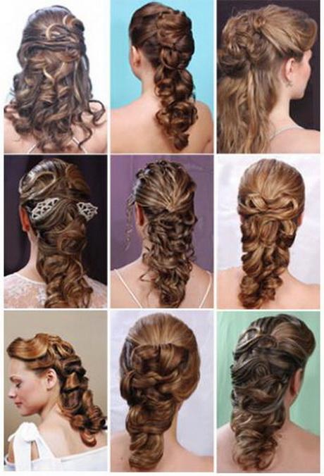 Semirecogidos para bodas pelo largo - Peinados de novia con flequillo ...