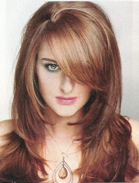 New Style Cutting Hair : Cortes de cabello capas largas