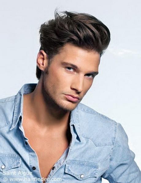 Peinados para hombres con poco pelo disimular las entradas - Peinados hombres con entradas ...