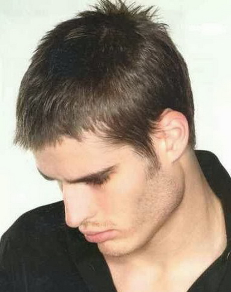 Peinados con pelo corto hombres - Peinados de moda para chicos ...