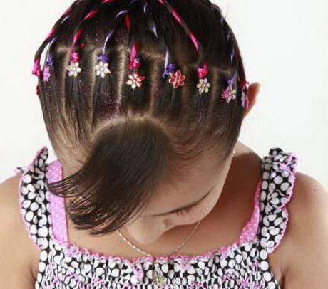 Peinados infantiles co...