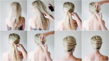 Paso a paso de peinados recogidos - Peinados faciles recogidos paso a paso ...