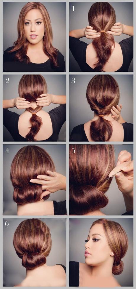 Paso a paso peinados recogidos - Peinados faciles recogidos paso a paso ...