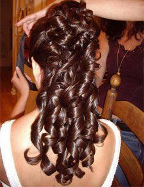 Peinados semirecogidos para pelo largo - Peinados de boda semirecogidos ...