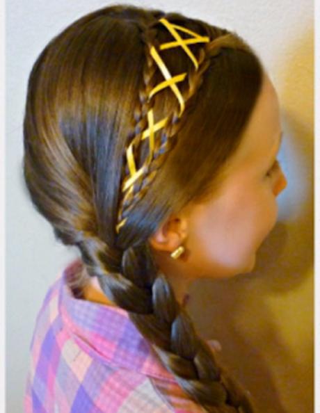 Peinados con trenzas infantiles paso a paso - Peinados paso a paso trenzas ...
