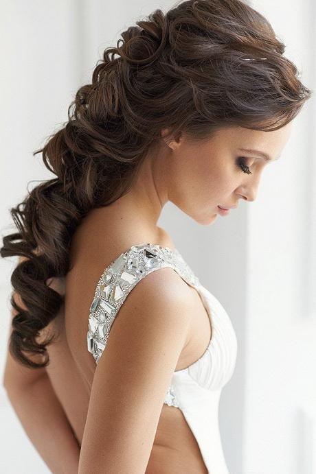 Peinados para fiestas semi recogido - Peinados de novia recogido ...